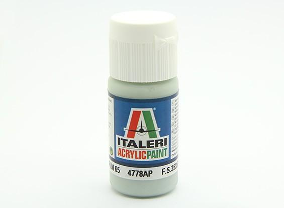 Italeri丙烯酸涂料 -  Hellblau RLM 65