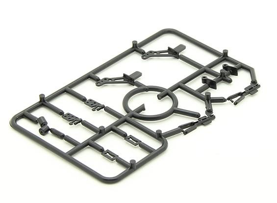 迷你配件包带2个喇叭,2个铰链,2个轮夹头和2个U形接头