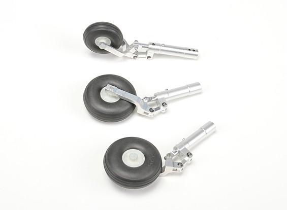 合金奥莱奥支柱设置瓦特/车轮90毫米/ 1.20喷气类