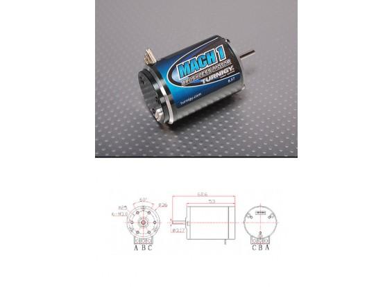 Turnigy MACH2 8.5T无刷R / C车电机W /时序调整4150Kv