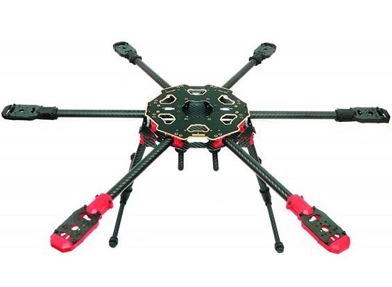塔罗牌680PRO HexaCopter折叠架3K碳(KIT)