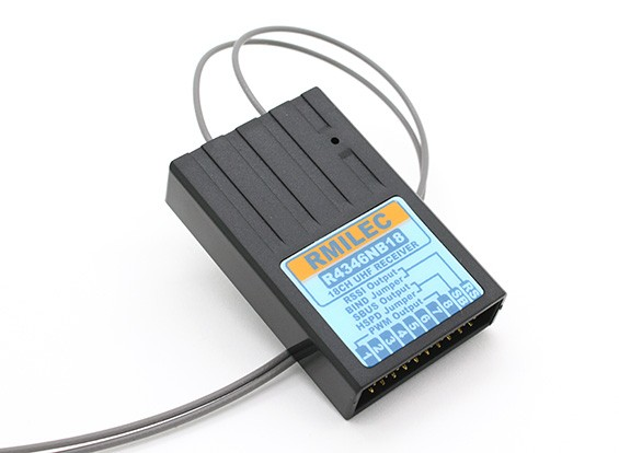 RMILEC R4346NB18 430-460Mhz 18ch LRS接收器