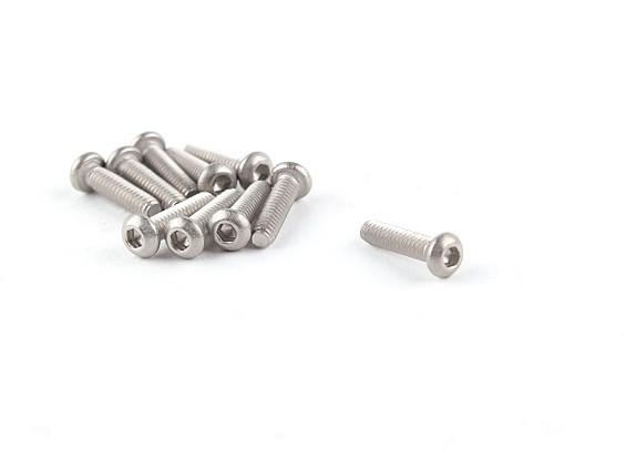 钛M2×8 Bottonhead六角螺丝(10片/袋)