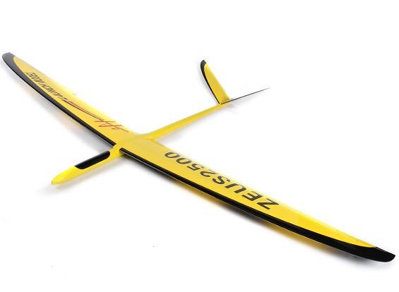 宙斯2500-V滑翔机复合2500毫米(ARF)