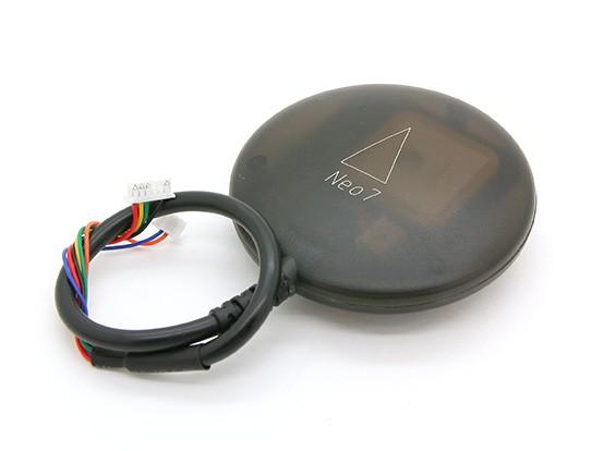 UBLOX新-7M GPS和指南针和底座上