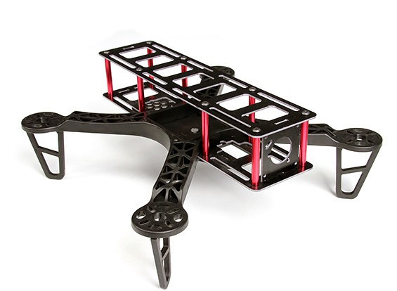 HobbyKing FPV250L长帧四轴飞行器一个迷你尺寸的FPV多旋翼飞行器(套件)