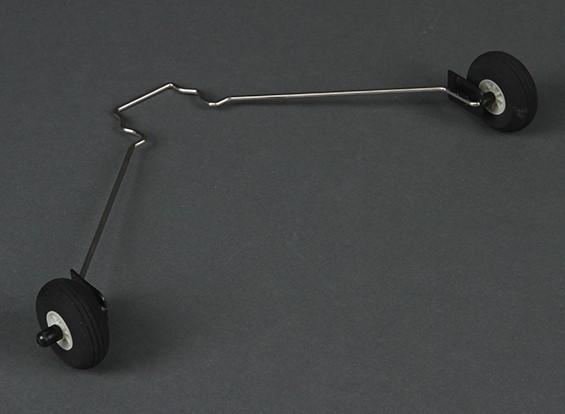 HobbyKing®Bix3教练1550毫米 - 更换起落架