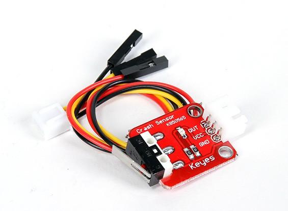 3D打印机与挡块PCB,电缆和机械杠杆开关