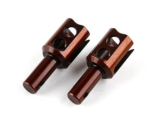 锤RZ-4 1/10拉力赛车 - 可选齿轮DIFF。输出驱动器 - 弹簧钢(2个)