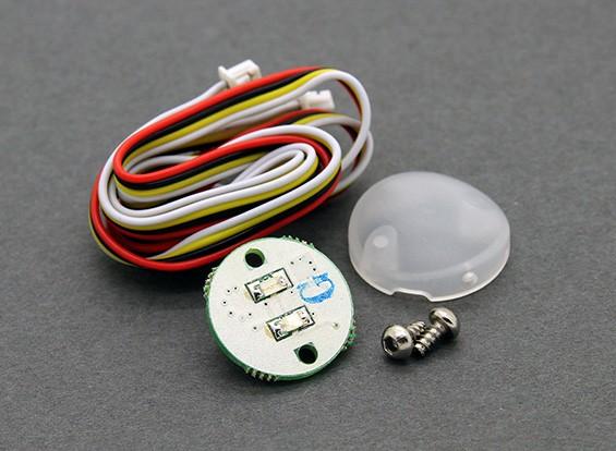 华科尔QR X800 FPV GPS四轴飞行器 - 红色LED板