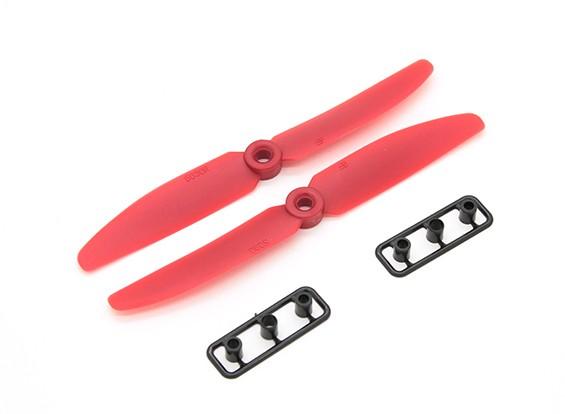 Gemfan螺旋桨5X3 RED(CW / CCW)(2个)