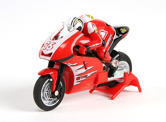 快板微运动自行车1/20比例摩托车(RTR)(红色)