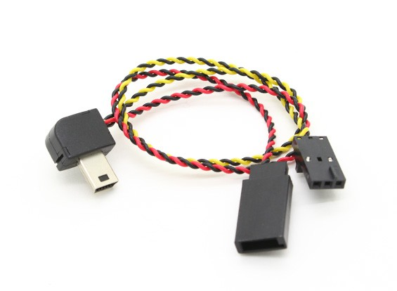 GoPro的英雄3适配器电缆FPV视频的Tx 1只/袋