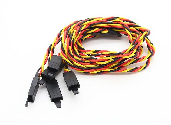 扭曲的45厘米伺服铅延伸(JR)与钩22AWG(5片/袋)