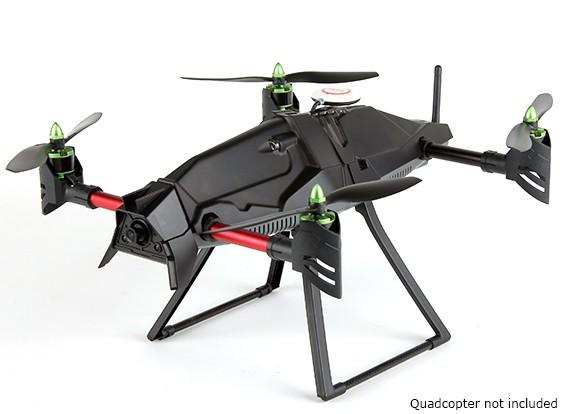伸展高度着陆橇集的Quanum创业FPV四直升机