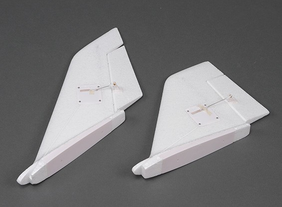 HobbyKing眼镜蛇90毫米EDF  - 更换垂直尾翼套装