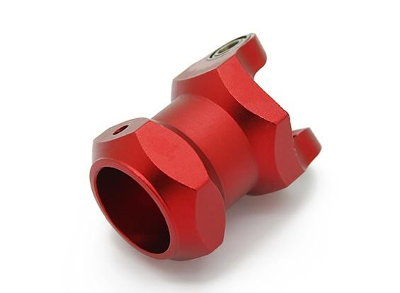 与轴承(红色)CNC铝合金折叠16毫米多旋翼动臂座