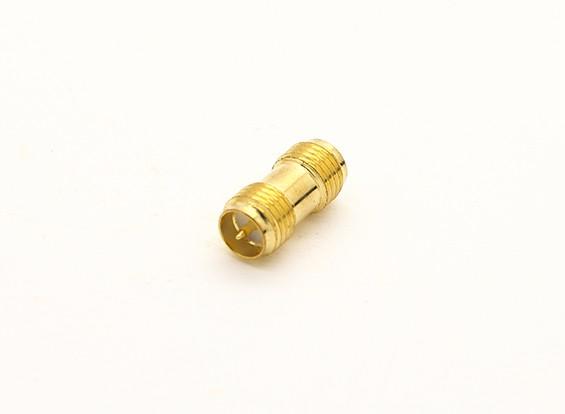RP-SMA插孔< - > SMA插孔适配器