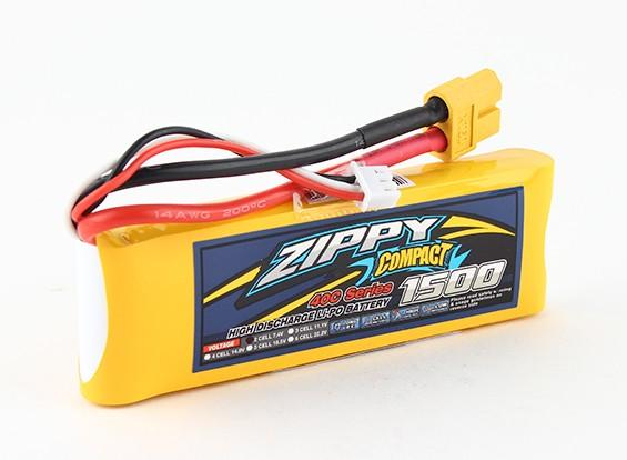 ZIPPY紧凑型1500mAh的2S 40C前列包
