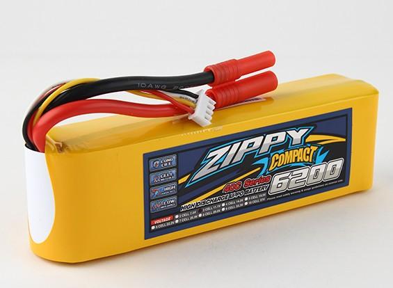 ZIPPY紧凑6200mAh 3S 40C前列包