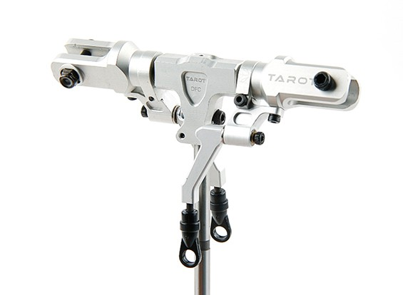 塔罗牌450 PRO / PRO V2 DFC拆分锁定旋翼头组件 - 银(TL48025-02)