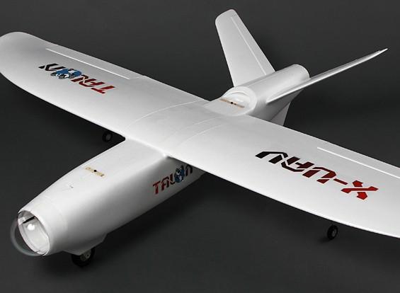 的X无人机爪FPV V型尾翼无人机EPO1718毫米(套件)V2
