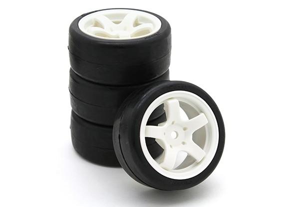 扫描SWP-MN25迷你房完成轮胎套装25deg(4只)