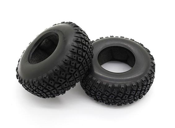 轮胎 - 锤Pitbull的1/18 4WD沙漠越野车(2个)