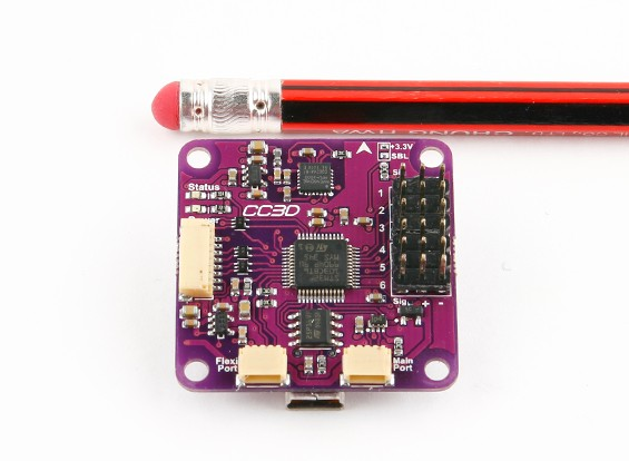 Openpilot CC3D飞行控制器,电缆组充分授权