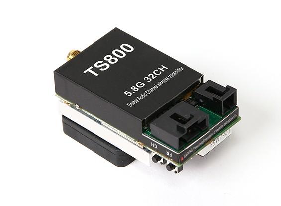 Skyzone FPV 5.8GHz的1500MW 32CH A / V传输(TX)模块TS800 RP-SMA