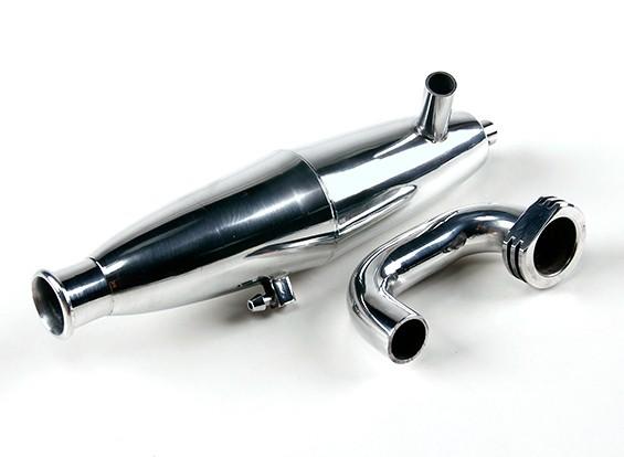 1/8比例Truggy /越野车的高性能调谐硝基管及歧管套装