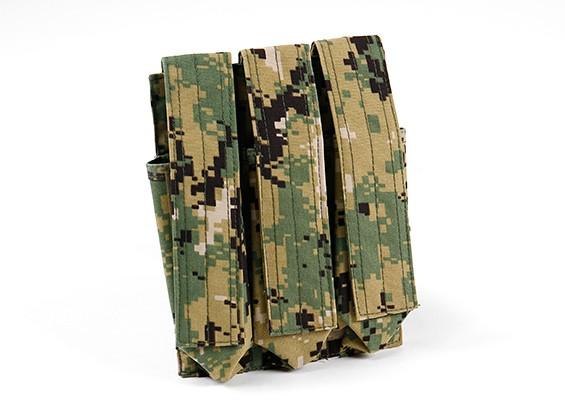 SWAT 500D尼龙莫尔MP7三联弹匣包(AOR2)