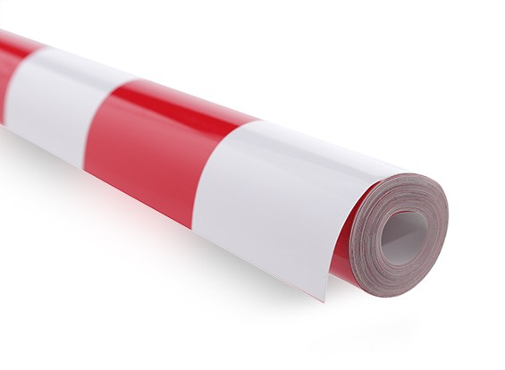 地膜覆盖烧烤工作红色/白色XL(5mtr)405
