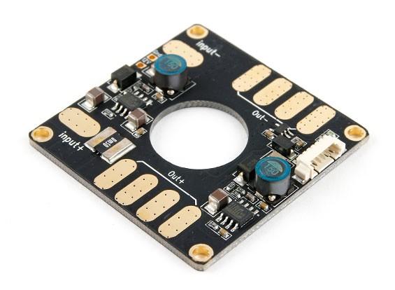 HK导频功率模块VI,配电板与双UBEC ALL-IN-一(120A和10秒)