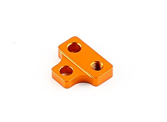 XRAY T4'15 1/10房车 - 铝。电机安装板 - 橙色