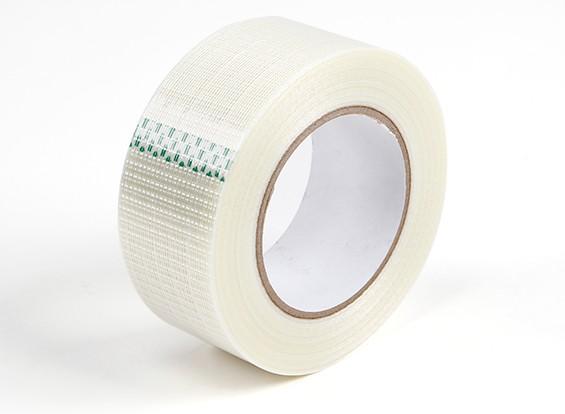 高强度纤维网纹带。 50毫米乘五十米