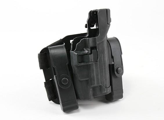 艾默生BH风格的3级武器光皮套集(P226,黑色)