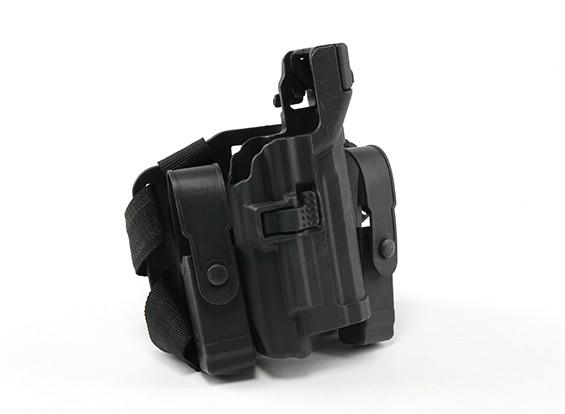 艾默生BH风格的3级武器光皮套集(USP,黑色)