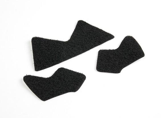 FMA海事头盔魔术贴MH型(黑色)