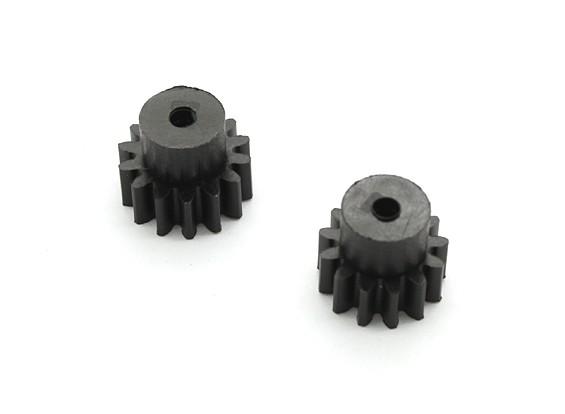H-王沙尘暴1/12两轮驱动沙漠越野车 - 塑料小齿轮组(13 / 14T)