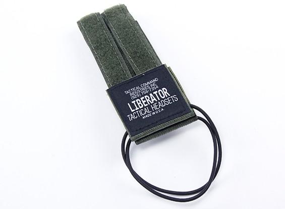 战术头盔ž战术转换套件贴纸(叶子绿)