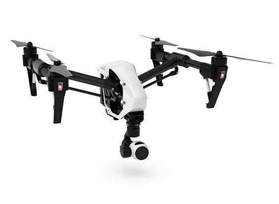 DJI T600启发1四轴飞行器与4K摄像机和3轴万向节