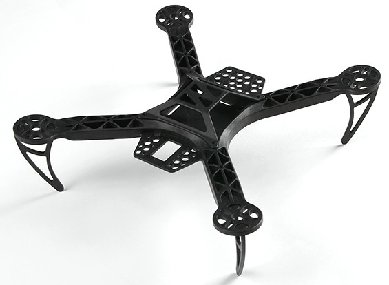 HobbyKing FPV260向上扫迷你四轴飞行器(KIT)