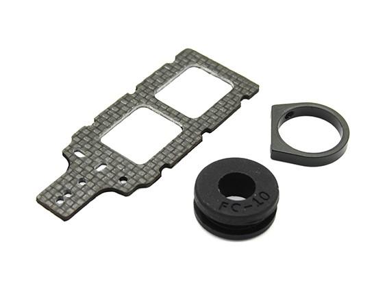 碳FPV变送器安装有橡胶件西服10毫米围油栏