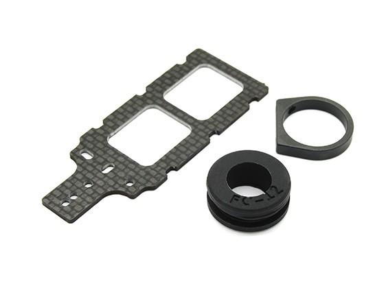 碳FPV变送器安装有橡胶件西服12毫米围油栏