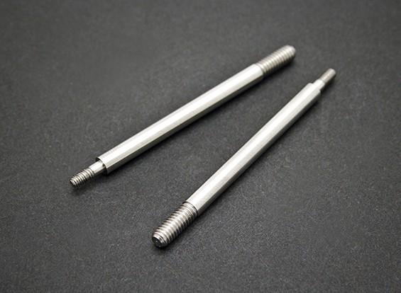前避震轴 - 锤SABERTOOTH 1/8比例Truggy硝基(2个)