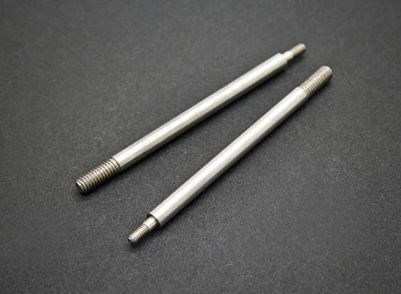 后避震轴 - 锤SABERTOOTH 1/8比例Truggy硝基(2个)