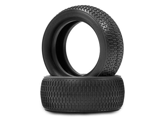 JCONCEPTS条形码1/10四驱越野车前轮胎 - 金(室内软)复合
