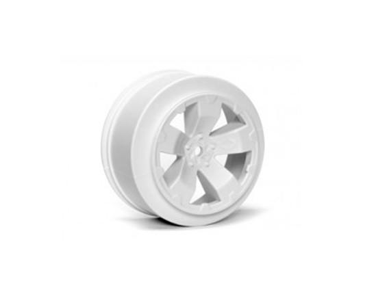 JCONCEPTS危害1/10卡车后轮 - 白色