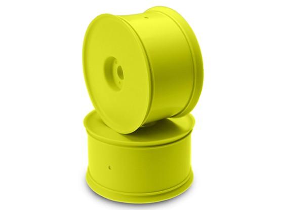 JCONCEPTS高架1/8卡车车轮 - 黄色
